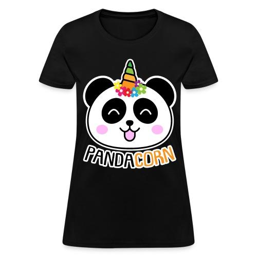 Pandacorn Panda Unicorn Tshirt - Women's T-Shirt