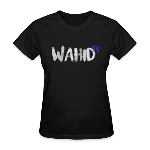 WahidTV Text Logo - Women's T-Shirt