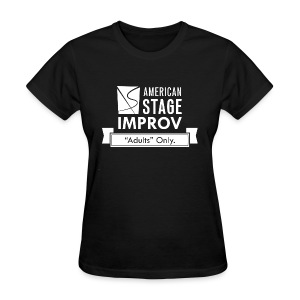 American Stage Improv Logo - Women's T-Shirt
