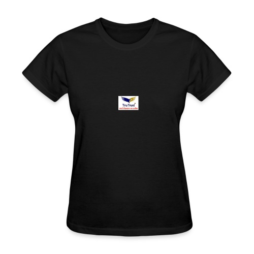 trutrst logo - Women's T-Shirt