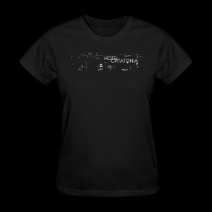 Hotel Catatonia logo image - Women's T-Shirt