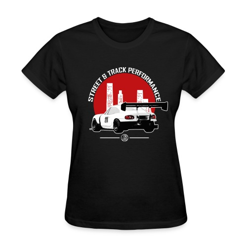 BEAVIS RACECARLOGO BLACK - Women's T-Shirt