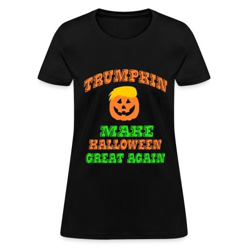Trumpkin Halloween Shirt - Women's T-Shirt