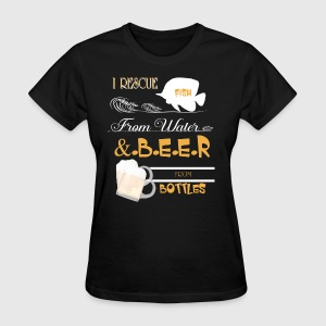 Fish From Water And Beer From Bottles T Shirt - Women's T-Shirt