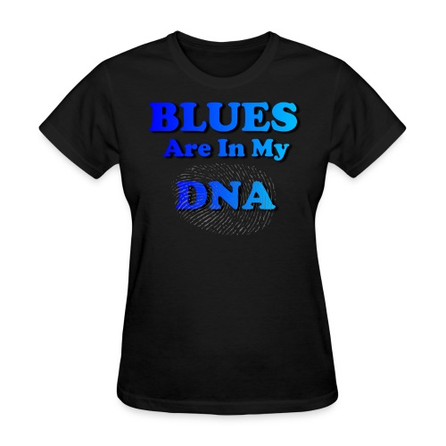 Blues DNA - Women's T-Shirt