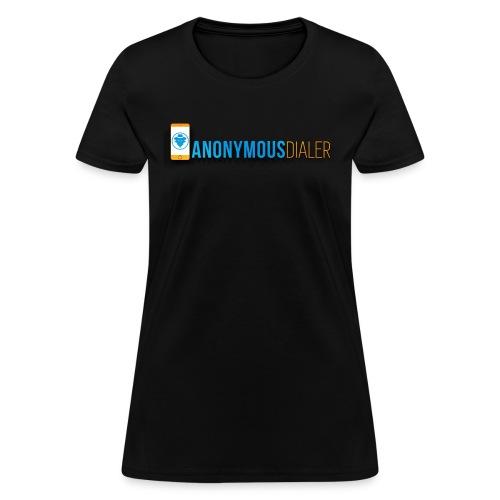 Anonymous Dialer Logo 2 - Women's T-Shirt