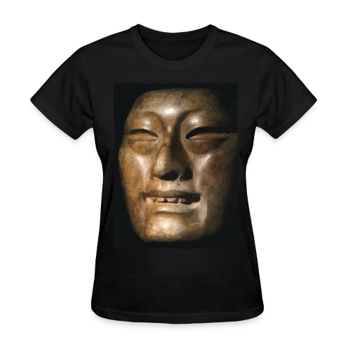 Mask of Olmec Asiatic - Women's T-Shirt