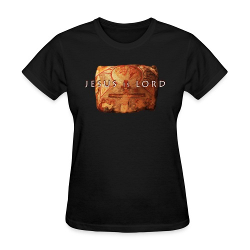 Jesus is Lord - stone tablet - Women's T-Shirt