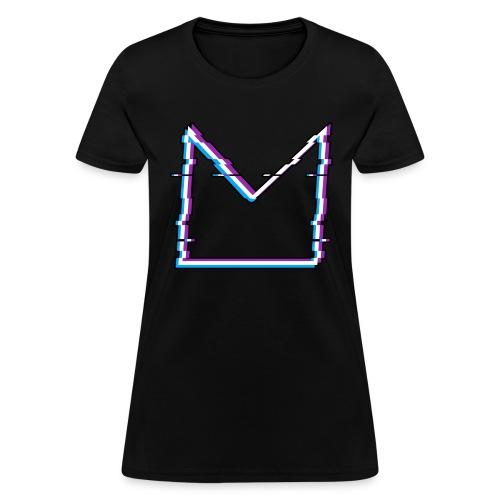 Glitch M//TECH Logo - Women's T-Shirt
