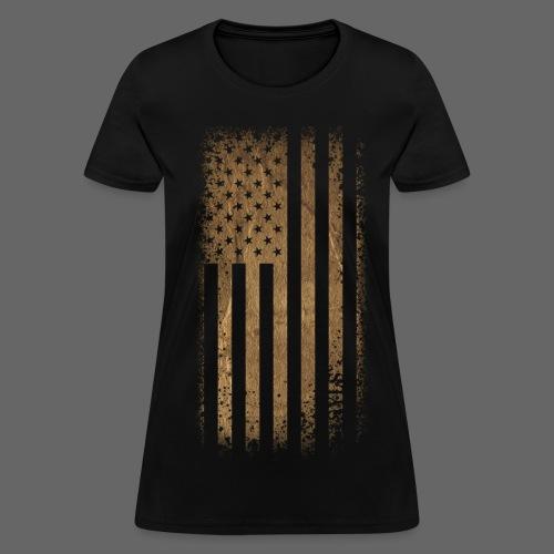 Tattered Flag - Women's T-Shirt