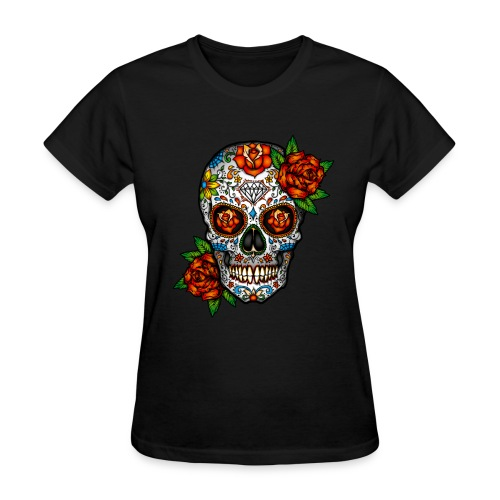 sugarskull - Women's T-Shirt
