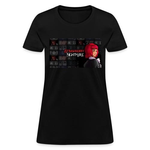Strawberry Nightmare Banner - Women's T-Shirt