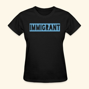 Ozo stands with Immigrants - Women's T-Shirt