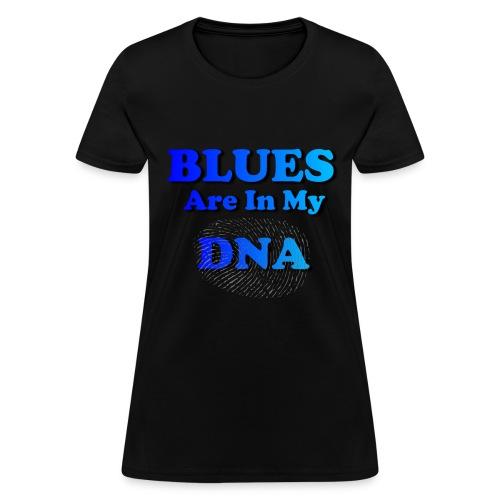 Blues DNA - Women's T-Shirt