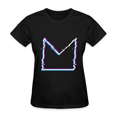 Glitch M//TECH Logo - Women's T-Shirt