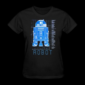 robot - Women's T-Shirt