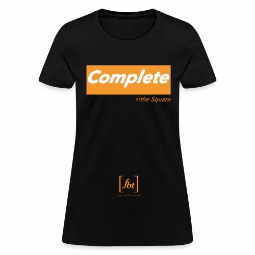 Complete the Square [fbt] - Women's T-Shirt