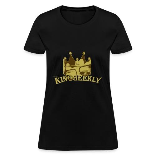KingGeekly Gold - Women's T-Shirt