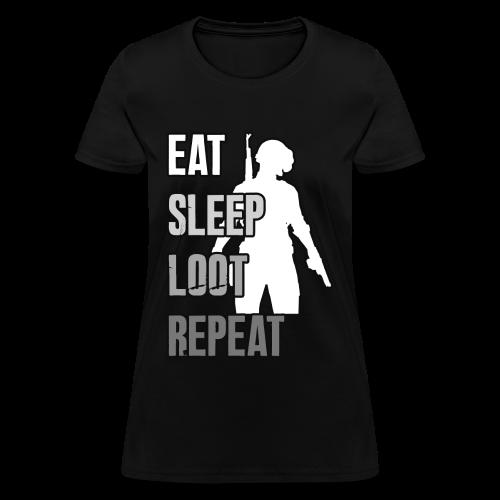 Playerunknowns Battlegrounds - LOOT - PUBG - Women's T-Shirt