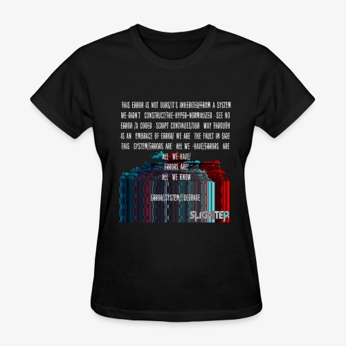 ERROR Lyrics - Women's T-Shirt