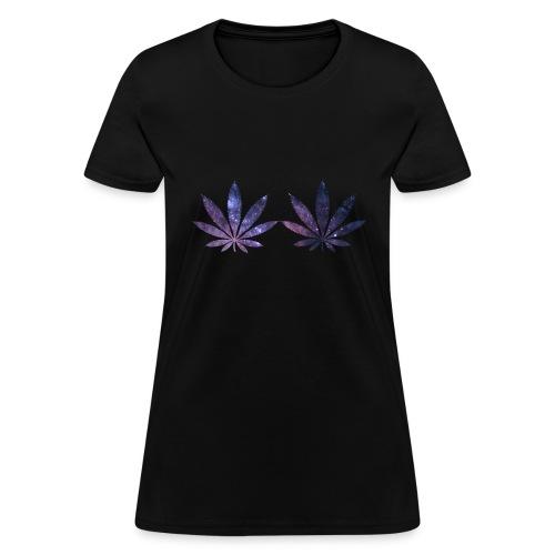 Galaxy Leaf - Women's T-Shirt