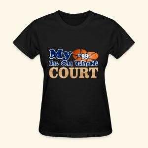 HEART IS ON COURT99 - Women's T-Shirt