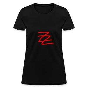 ZZ logo hoodie - Women's T-Shirt