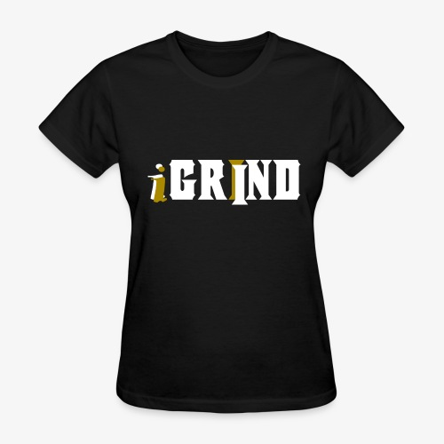 The Official iGrind Merchandise - Women's T-Shirt