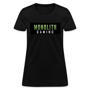 Monolith Gaming Logo - Women's T-Shirt