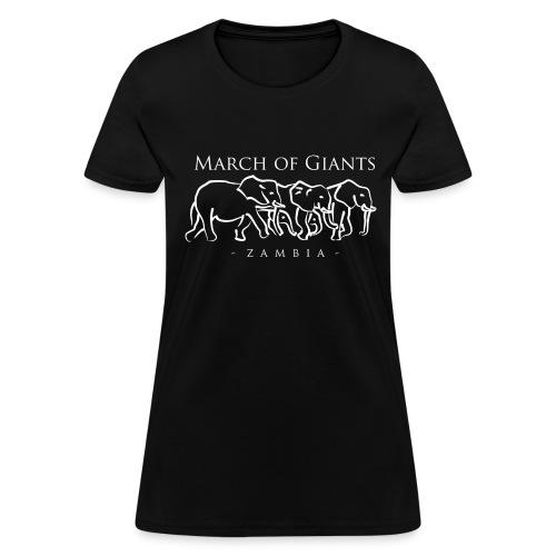 March of Giants - Women's T-Shirt