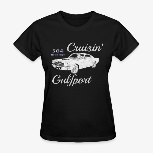 Cruisin Gulfport Mustang - Women's T-Shirt