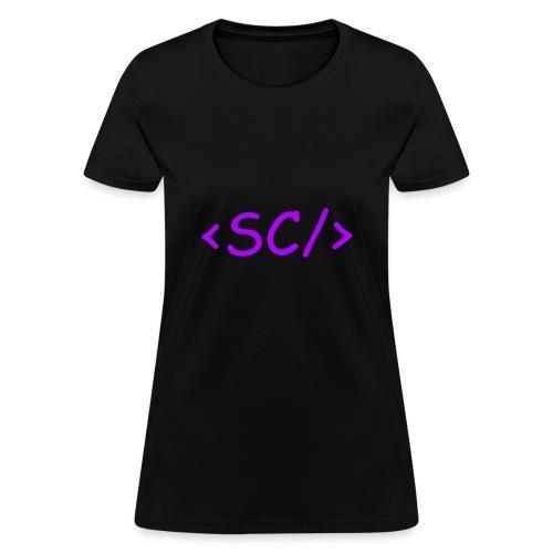 Scripted Code - Women's T-Shirt