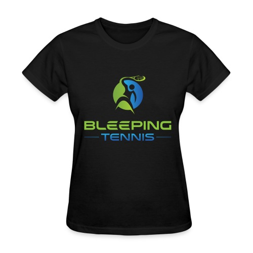 Bleeping Tennis - Women's T-Shirt