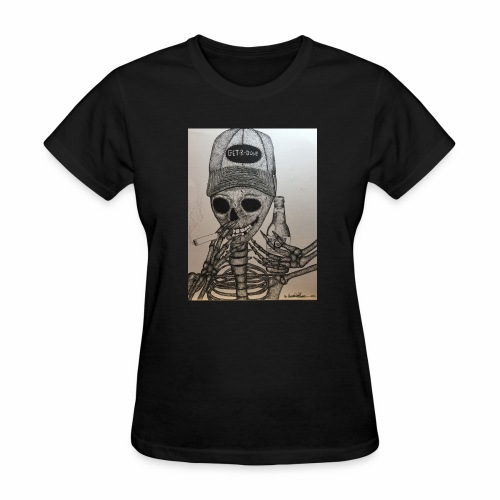 Get R Done Skele - Women's T-Shirt