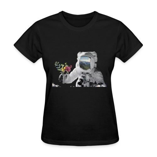 Life in Space - Women's T-Shirt