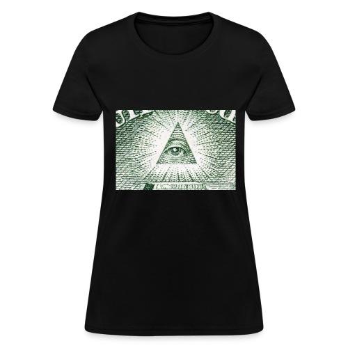 13522112 auge der vorsehung makro auf der ruecksei - Women's T-Shirt