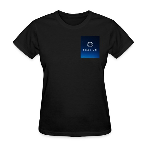 Blast Off Logo - Women's T-Shirt