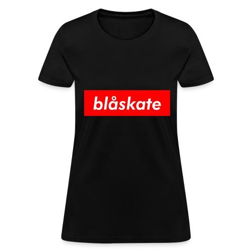 blåskate Box Logo - Women's T-Shirt