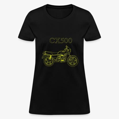 CX500 line drawing - Women's T-Shirt