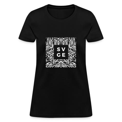 SVGE Box Logo - Women's T-Shirt