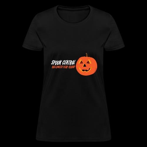 Spook Central, Halloween Year Round - Women's T-Shirt