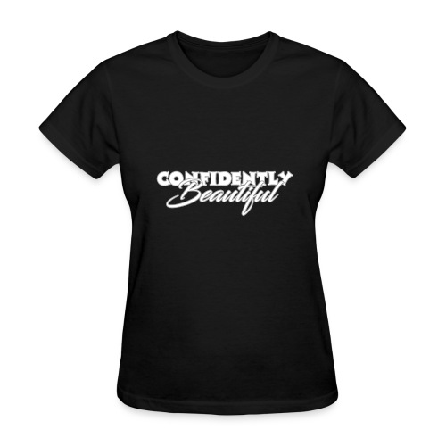 Confidently Beautiful (Dark Collection) - Women's T-Shirt