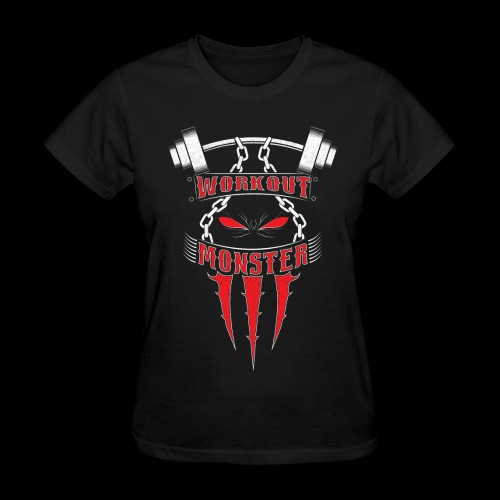 Workout Monster - Women's T-Shirt