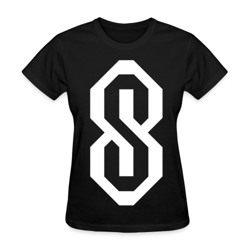 White S Logo - Women's T-Shirt
