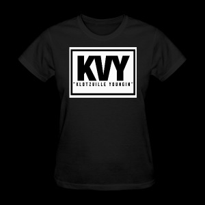 Klotzville Youngin Box Logo - Women's T-Shirt