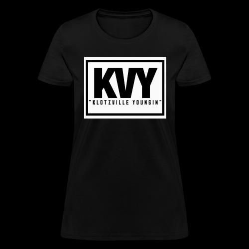 Klotzville Youngin Box Logo - Women's T-Shirt