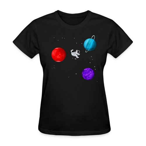 Lonely Astronaut - Women's T-Shirt