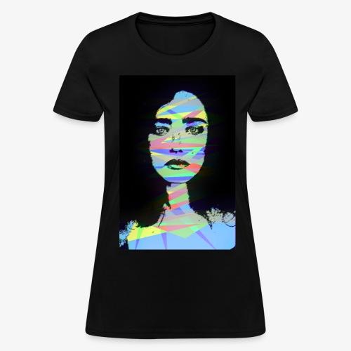 Crystal Color Girl - Women's T-Shirt