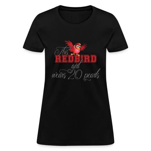 This REDBIRD Girl_BLACK Tee - Women's T-Shirt