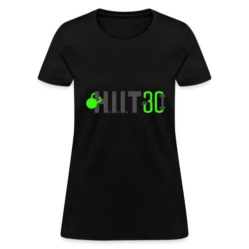 HIIT30_White - Women's T-Shirt